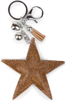 styleBREAKER soft glittering star keyring with rhinestones, women 05050005 – Bild 14