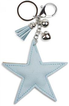 styleBREAKER Schlüsselanhänger mit Strass Stern und Quaste, Kugel, Befestigungsring, Karabiner, Damen 05050005 – Bild 19