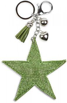 styleBREAKER soft glittering star keyring with rhinestones, women 05050005 – Bild 22