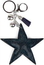 styleBREAKER Schlüsselanhänger mit Strass Stern und Quaste, Kugel, Befestigungsring, Karabiner, Damen 05050005 – Bild 15