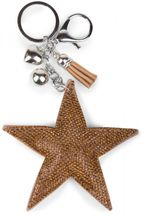 styleBREAKER Schlüsselanhänger mit Strass Stern und Quaste, Kugel, Befestigungsring, Karabiner, Damen 05050005 – Bild 14