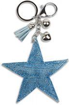 styleBREAKER Schlüsselanhänger mit Strass Stern und Quaste, Kugel, Befestigungsring, Karabiner, Damen 05050005 – Bild 18