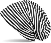 styleBREAKER beanie hat with stripes, longbeanie striped, unisex 04024048 – Bild 1