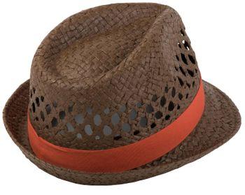 styleBREAKER luftiger Strohhut mit kontrastfarbigem Zierband, Sommerhut, Unisex 04025001 – Bild 8