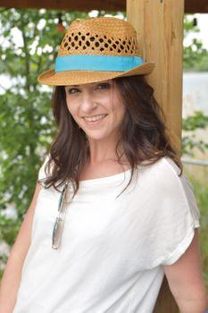 styleBREAKER luftiger Strohhut mit kontrastfarbigem Zierband, Sommerhut, Unisex 04025001 – Bild 10