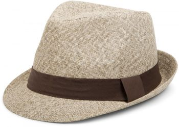 styleBREAKER trilby hat, airy paper hat with contrasting coloured ribbon, unisex 04025002 – Bild 3