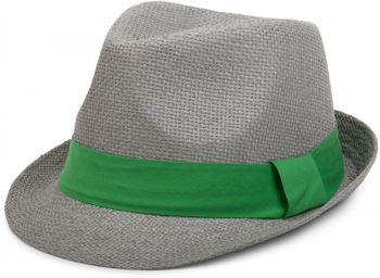 styleBREAKER trilby hat, airy paper hat with contrasting coloured ribbon, unisex 04025002 – Bild 11