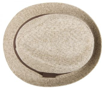 styleBREAKER trilby hat, airy paper hat with contrasting coloured ribbon, unisex 04025002 – Bild 16