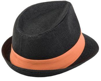 styleBREAKER Trilby Hut, leichter Papierhut mit kontrastfarbigem Zierband, Unisex 04025002 – Bild 28