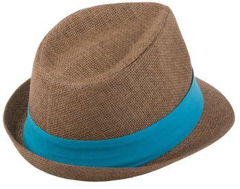 styleBREAKER Trilby Hut, leichter Papierhut mit kontrastfarbigem Zierband, Unisex 04025002 – Bild 31