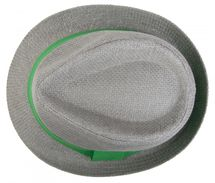 styleBREAKER trilby hat, airy paper hat with contrasting coloured ribbon, unisex 04025002 – Bild 19