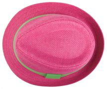 styleBREAKER trilby hat, airy paper hat with contrasting coloured ribbon, unisex 04025002 – Bild 20