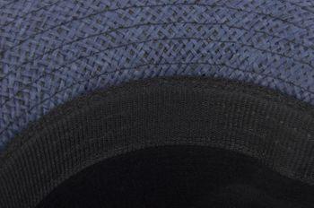 styleBREAKER Trilby Hut, leichter Papierhut mit schwarzem Gürtel Zierband, Unisex 04025003 – Bild 21