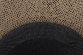 styleBREAKER Trilby Hut, leichter Papierhut mit schwarzem Gürtel Zierband, Unisex 04025003 – Bild 24