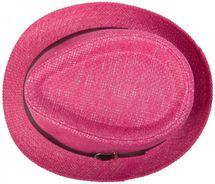 styleBREAKER Trilby Hut, leichter Papierhut mit schwarzem Gürtel Zierband, Unisex 04025003 – Bild 8