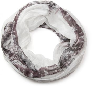 styleBREAKER Eiffel Tower, Paris Design tube scarf, crash and crinkle, soft and silky, ladies 01016102 – Bild 13