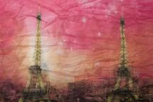 styleBREAKER Eiffel Tower, Paris Design tube scarf, crash and crinkle, soft and silky, ladies 01016102 – Bild 8