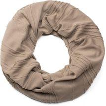 styleBREAKER classic pleating pattern tube scarf, unisex 01018082 – Bild 8