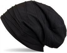 styleBREAKER Beanie Mütze mit Falten Muster, Slouch Longbeanie, Unisex 04024053 – Bild 4