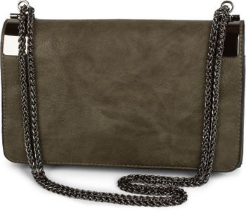 styleBREAKER clutch, evening bag with metal clasp and plain coil chain, vintage design, ladies 02012046 – Bild 12