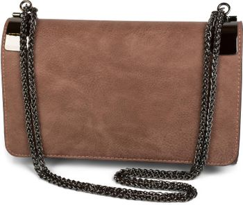 styleBREAKER clutch, evening bag with metal clasp and plain coil chain, vintage design, ladies 02012046 – Bild 15