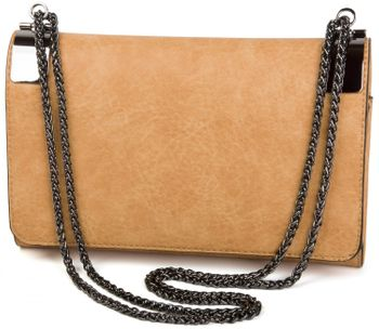 styleBREAKER clutch, evening bag with metal clasp and plain coil chain, vintage design, ladies 02012046 – Bild 10