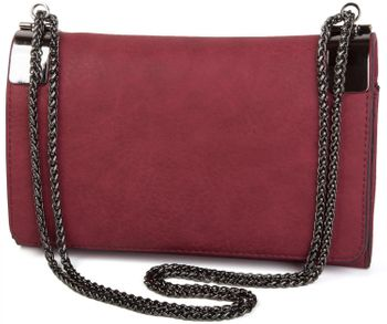styleBREAKER clutch, evening bag with metal clasp and plain coil chain, vintage design, ladies 02012046 – Bild 8