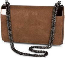 styleBREAKER clutch, evening bag with metal clasp and plain coil chain, vintage design, ladies 02012046 – Bild 4