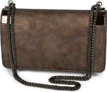 styleBREAKER clutch, evening bag with metal clasp and plain coil chain, vintage design, ladies 02012046 – Bild 13