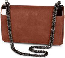 styleBREAKER clutch, evening bag with metal clasp and plain coil chain, vintage design, ladies 02012046 – Bild 22