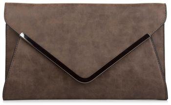 styleBREAKER Envelope Clutch, Abendtasche im Kuvert Design mit Schulterriehmen und Trageschlaufe, Damen 02012047 – Bild 2