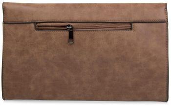 styleBREAKER Envelope Clutch, Abendtasche im Kuvert Design mit Schulterriehmen und Trageschlaufe, Damen 02012047 – Bild 22