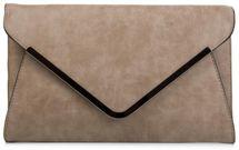 styleBREAKER Envelope Clutch, Abendtasche im Kuvert Design mit Schulterriehmen und Trageschlaufe, Damen 02012047 – Bild 6
