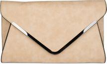 styleBREAKER Envelope Clutch, Abendtasche im Kuvert Design mit Schulterriehmen und Trageschlaufe, Damen 02012047 – Bild 23