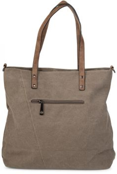 styleBREAKER canvas shopper handbag with star patch, sling bag, shoulder bag, ladies 02012048 – Bild 12