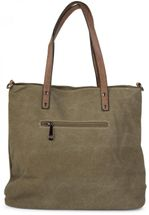 styleBREAKER canvas shopper handbag with star patch, sling bag, shoulder bag, ladies 02012048 – Bild 16
