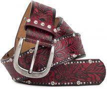 styleBREAKER Vintage Gürtel mit Ornament Prägung, Nieten und Strass, kürzbar, Damen 03010056 – Bild 19