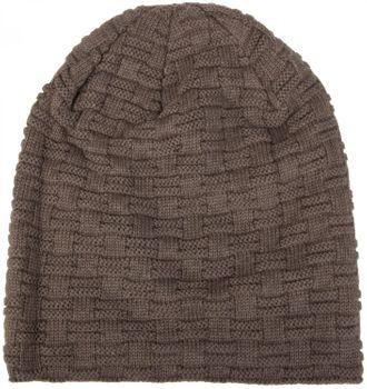 styleBREAKER warming braided pattern fine knit slouch beanie with an ultra soft fleece lining, unisex 04024058  – Bild 23