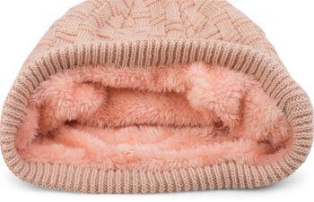 styleBREAKER warming braided pattern fine knit slouch beanie with an ultra soft fleece lining, unisex 04024058  – Bild 36