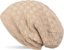 styleBREAKER warming braided pattern fine knit slouch beanie with an ultra soft fleece lining, unisex 04024058  – Bild 12
