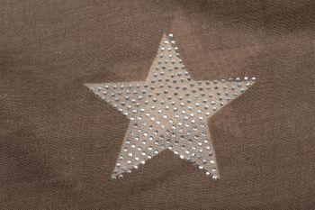 styleBREAKER Loop Schal mit Sterne Muster und edler Strass Applikation, Schlauchschal, Tuch, Damen 01018086 – Bild 50