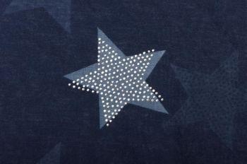 styleBREAKER Loop Schal mit Sterne Muster und edler Strass Applikation, Schlauchschal, Tuch, Damen 01018086 – Bild 29