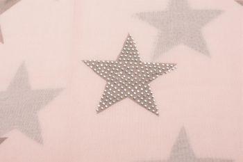 styleBREAKER Loop Schal mit Sterne Muster und edler Strass Applikation, Schlauchschal, Tuch, Damen 01018086 – Bild 35
