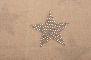 styleBREAKER Loop Schal mit Sterne Muster und edler Strass Applikation, Schlauchschal, Tuch, Damen 01018086 – Bild 34
