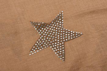 styleBREAKER Loop Schal mit Sterne Muster und edler Strass Applikation, Schlauchschal, Tuch, Damen 01018086 – Bild 44