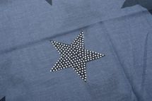styleBREAKER Loop Schal mit Sterne Muster und edler Strass Applikation, Schlauchschal, Tuch, Damen 01018086 – Bild 33