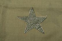 styleBREAKER Loop Schal mit Sterne Muster und edler Strass Applikation, Schlauchschal, Tuch, Damen 01018086 – Bild 40