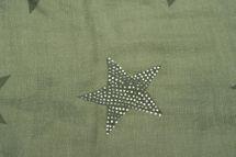 styleBREAKER Loop Schal mit Sterne Muster und edler Strass Applikation, Schlauchschal, Tuch, Damen 01018086 – Bild 46