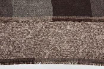 styleBREAKER edler Loop Schlauchschal mit Streifen und Paisley Muster im Doubleface Stil, Unisex 01018093 – Bild 10