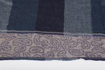 styleBREAKER edler Loop Schlauchschal mit Streifen und Paisley Muster im Doubleface Stil, Unisex 01018093 – Bild 14